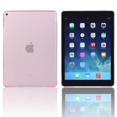 For iPad Air 2 / iPad 6 Pink Plastic Hard Protective Case