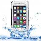 iPhone 6 Plus Silver RIYO IP68 Waterproof Shockproof Dustproof Snowproof Case with Holder & Lanyard
