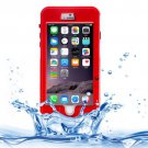 For iPhone 6 Plus Red Link Dream Waterproof Protective Case with Lanyard
