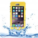 For iPhone 6 Plus Yellow Link Dream Waterproof Protective Case with Lanyard