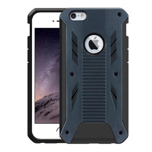 iPhone 6 Plus Dark Blue Caseology Shockproof Rugged Armor Plastic Back Cover & TPU Case