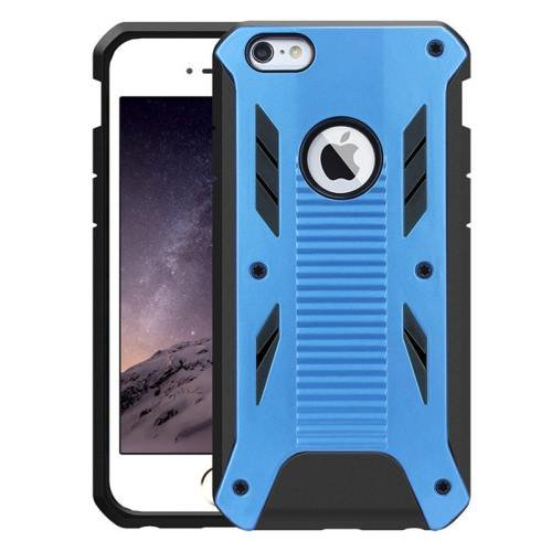 iPhone 6 Plus Blue Caseology Shockproof Rugged Armor Plastic Back Cover & TPU Case