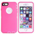 iPhone 6 Plus Magenta 3 in 1 Hybrid Silicon & Plastic Protective Case