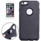For iPhone 6 Plus Grey Plastic Shell + TPU Combination Case