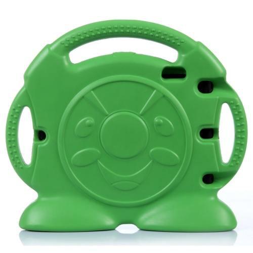 For iPad Mini 1/2/3 Green Anpanman Pattern EVA Bumper Portable Protective Case with Handle & Holder