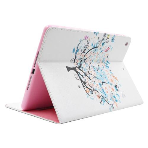 For iPad Air/iPad 5 Dreamy Tree Smart Cover Leather case with Holder, Card Slots & Wallet