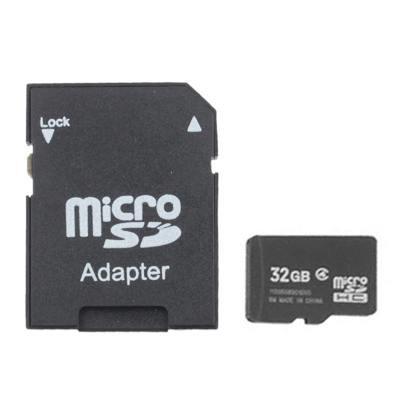 32GB High Speed Class 4 Micro SD(TF) Memory Card (100% Real Capacity)