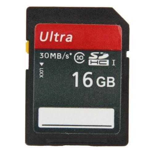 16GB Ultra High Speed Class 10 SDHC Camera Memory Card (100% Real Capacity)