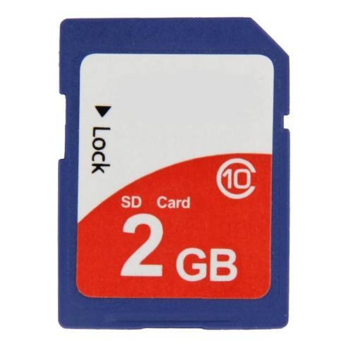2GB High Speed Class 10 SDHC Camera Memory Card (100% Real Capacity)