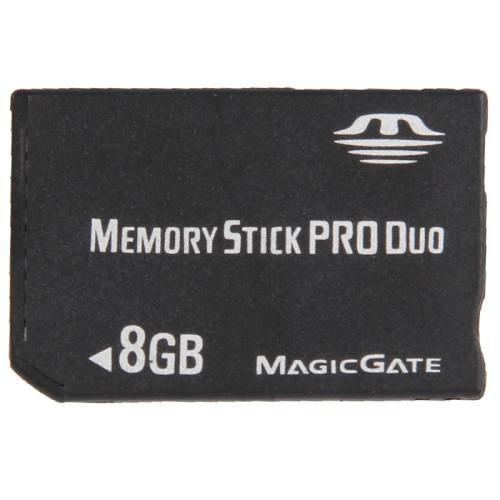 8GB Memory Stick Pro Duo Card (100% Real Capacity)