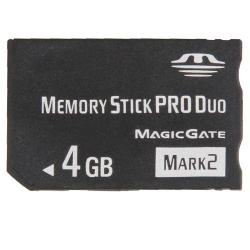 MARK2 4GB High Speed Memory Stick Pro Duo (100% Real Capacity)