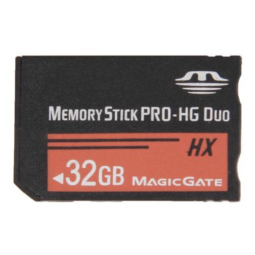32GB Memory Stick Pro Duo HX Memory Card - 30MB PER Second High Speed, for Use with PlayStation