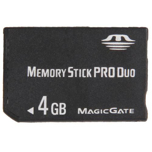 4GB Memory Stick Pro Duo Card (100% Real Capacity)