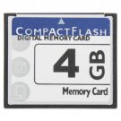 4GB Compact Flash Digital Memory Card (100% Real Capacity)