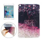 For iPad mini 4 Flower Tree and Bicycle Pattern TPU Protective Case