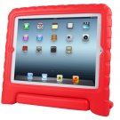 For iPad 4/3/2 Red EVA Material Drop Resistance Protective Case with Holder