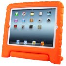 For iPad 4/3/2 Orange EVA Material Drop Resistance Protective Case with Holder