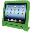 For iPad 4/3/2 Green EVA Material Drop Resistance Protective Case with Holder