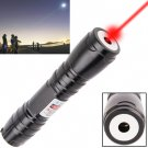 4mw 650nm Red Beam Laser Pointer Kit - black