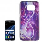 For Galaxy S7 Edge Nebula Pattern PC Protective Case