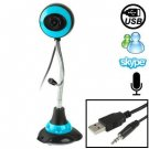 5.0 Mega Pixels USB 2.0 Driverless PC Camera / Webcam with MIC, Cable Length: 1.1m