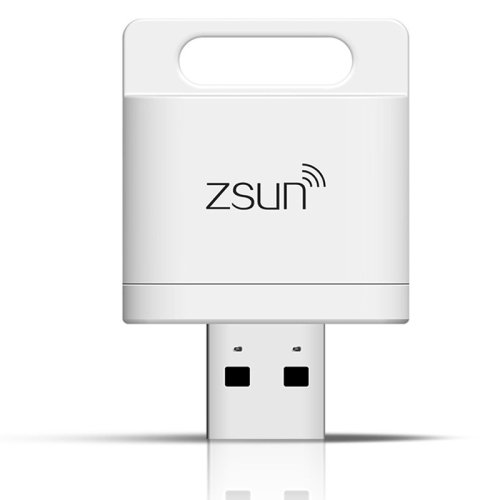 ZSUN Wifi Wireless Smart Card Reader for iPhone, Android Phone, Windows PC, Support 128GB TF Card
