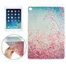 For iPad Air 2 Red Flower Tree  Pattern TPU Protective Case