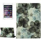 For iPad Air 2 360° Rotation Hankage Grape Leather Case with 3 Gears Holder