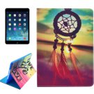For iPad Air 2 / iPad 6 DreamCatcher Pattern Smart Cover Leather Case with Holder & Card Slots