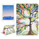 For iPad Air 2/iPad 6 Tree Pattern Leather Case with Holder & Card Slots & Wallet