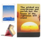 For iPad Air 2/iPad 6 Sunset Pattern Leather Case with Holder & Card Slots & Wallet
