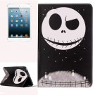 For iPad Mini 1/2/3 Ghost Pattern Horizontal Flip Leather Case with Holder