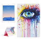 For iPad Air 2/iPad 6 Eye Pattern Leather Case with Holder & Card Slots & Wallet