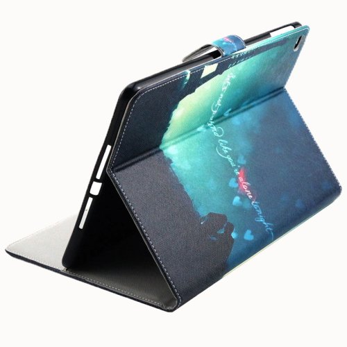 For iPad Air 2/iPad 6 Tower Pattern Flip Leather Case with Holde,& Card Slots & Wallet
