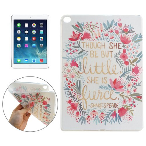 For iPad Air 2 FIERCE Pattern TPU Protective Case