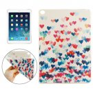 For iPad Air 2 Heart Pattern TPU Protective Case