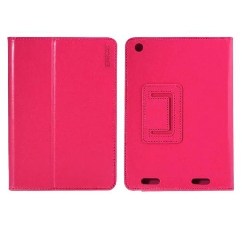 For Acer Iconia A1-830 Magenta ENKAY Crazy Horse Leather Case with Holder