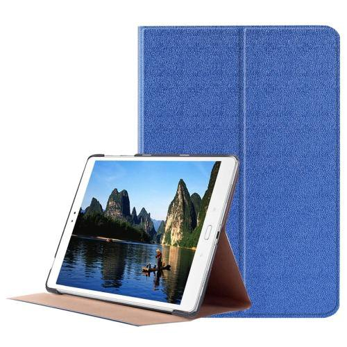 For ASUS Zenpad Dark Blue Smart Cover Stone Leather Case with 3 fold Holder