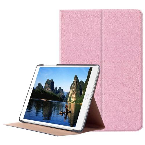 For ASUS Zenpad Pink Smart Cover Stone Leather Case with 3 fold Holder