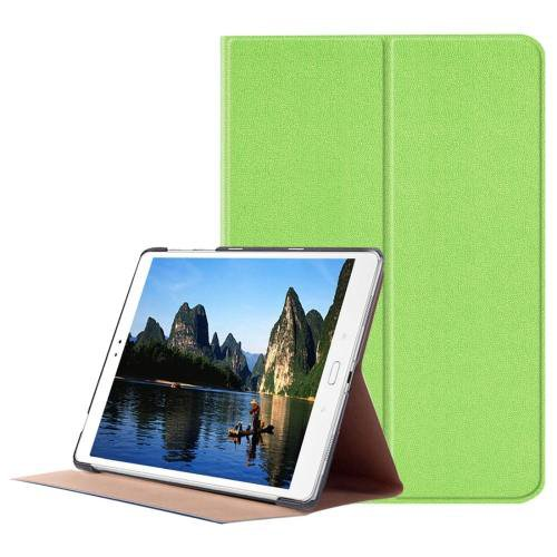 For ASUS Zenpad Green Smart Cover Stone Leather Case with 3 fold Holder