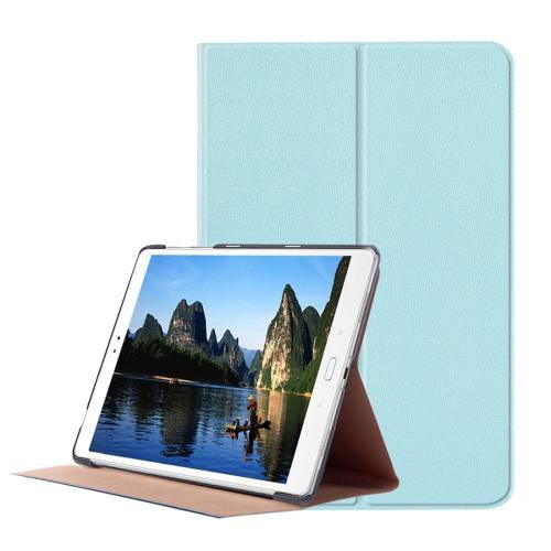 For ASUS Zenpad Blue Smart Cover Stone Leather Case with 3 fold Holder