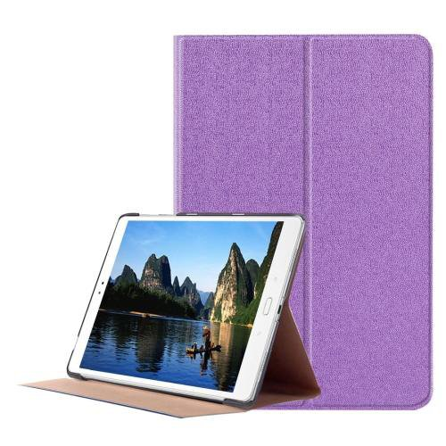 For ASUS Zenpad Purple Smart Cover Stone Leather Case with 3 fold Holder