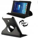 For ASUS Fonepad 7 Black Litchi Leather Case with Rotating Holder