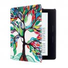 For Amazon Kindle Oasis Tree Pattern Horizontal Flip Leather Case