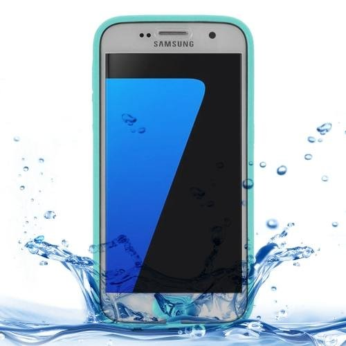 For Samsung Galaxy S7 3ATM Life Waterproof Green TPU Protective Case