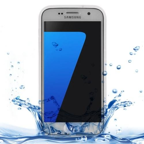 For Samsung Galaxy S7 3ATM Life Waterproof Transparent TPU Protective Case