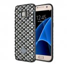 For Galaxy S7 Navy Blue URBAN KNIGHT Grid Texture PC + TPU Protective Case