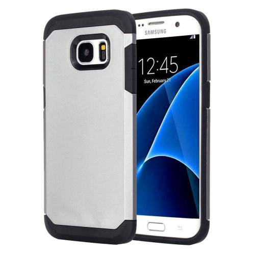 For Galaxy S7 Grey TPU + PC Armor Combination Case