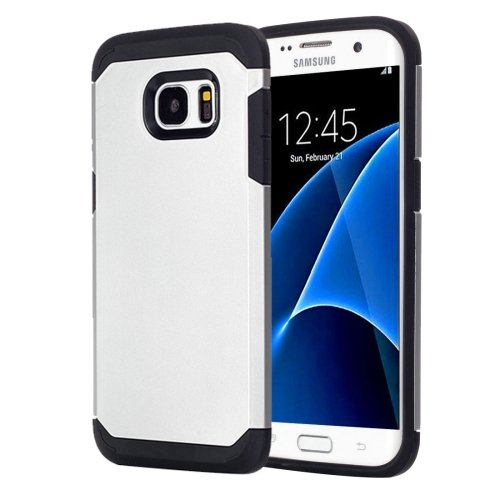 For Galaxy S7 Silver TPU + PC Armor Combination Case
