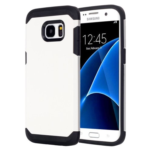 For Galaxy S7 White TPU + PC Armor Combination Case